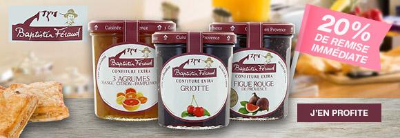 Découvrez une gamme complète de confiture provençale
