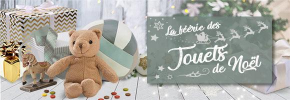 Entrez dans le monde féérique des jouets de Noël