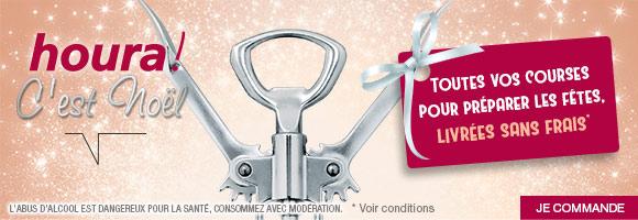 houra, c'est Noël ! Toutes vos courses pour préparer les fêtes, livrées sans Frais*   *Voir conditions