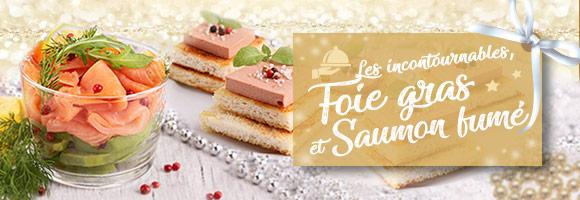 Foie gras et saumon fumé : les incontournables des fêtes