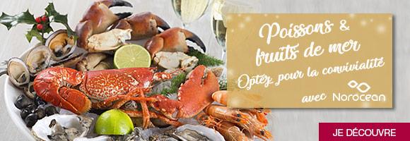 Retrouvez tous vos poissons et fruits de mer pour composer vos plats de fêtes !