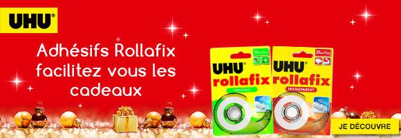 Découvrez les adhésifs Rollafix de UHU et facilitez vous les cadeaux pour Noël