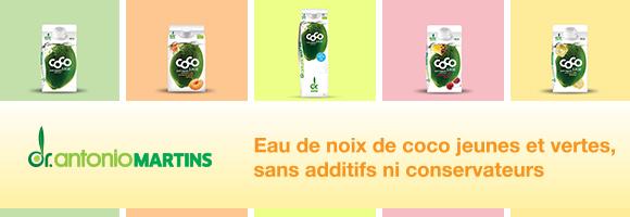 Eau de Noix de Coco Jeunes & Vertes. Sans additifs ni conservateurs 100% Naturelle