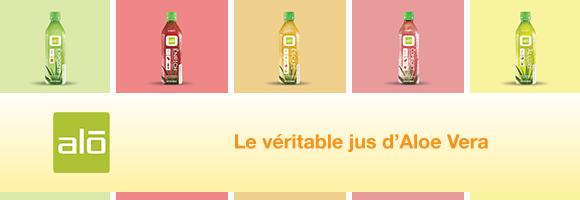 Le véritable jus d'Aloe Vera 100% naturel
