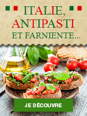 Italie, antipasti et farniente