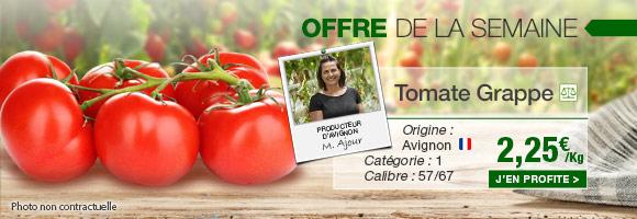 Profitez de notre offre de la semaine sur la tomate grappe