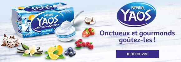 Onctueux, doux et gourmands : découvrez toute la générosité des yaourts à la Grecque YAOS de Nestlé