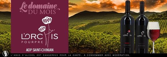 Chaque mois, votre caviste sélectionne pour vous un Domaine ou un Vin à découvrir. En juillet découvrez Le St Chinian, Domaine de L'orchis Pourpre, aux parfums fruités et gourmands, délice du Languedoc. Votre plaisir de découverte reste notre plaisir. Excellente dégustation !