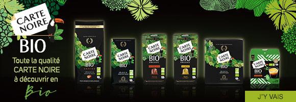 Découvrez la gamme Carte Noire Bio issue de plantations biologiques d'Amérique du Sud et d'Amérique Centrale. Les Maîtres-Torréfacteurs mettent en oeuvre tout leur savoir-faire pour révéler le meilleur des arômes de chacun de ces cafés Bio.