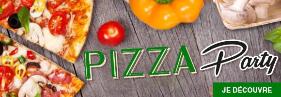 Venez découvrir la Pizza Party