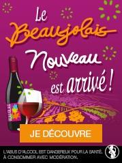 Le Beaujolais nouveau 2019 est arrivé !