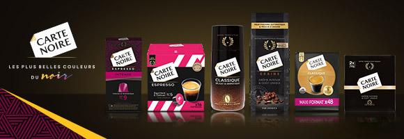 De la culture à la dégustation, découvrez le savoir-faire et la passion des maîtres-torrefacteurs de Carte Noire pour vous offrir une signature aromatique d'exception à chaque tasse. Cafés en grains, moulus, en dosettes ou solubles, Carte Noire vous permet de déguster le café de votre choix.