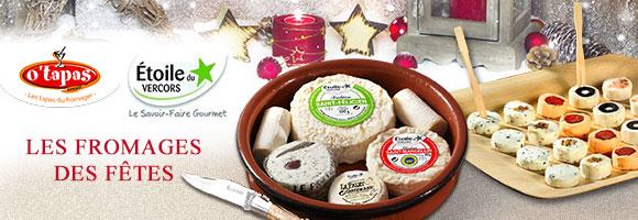 Pour l'apéro ou en plateau, découvrez la gamme de fromage de la Fromagerie de l'Etoile
