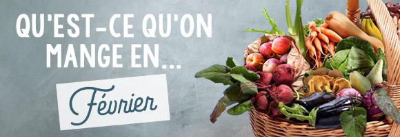 Les légumes que l'on consomme en février. Le mois de février correspond à la fin de l'hiver agricole. La liste des légumes de saison diffère peu de celle du mois précédent, et donc on trouve sur les étals des marchés plus ou moins les mêmes choses : des choux, choux-fleurs, choux de Bruxelles (et ça tombe bien car non seulement, on aime ça, mais en plus, on a plein de recettes pour vous afin de les cuisiner au mieux); des betteraves et si vous ne savez pas les préparer lisez notre article sur la betterave rouge, truffée de bonnes choses ; les légumes tubercules (panais, topinambours, salsifis en tête) qui reviennent sur le devant de la scène gastronomique pour élargir le champ des possibles, et d'autres, plus classiques comme l'endive, que les régimeuses connaissent bien car elle apporte peu de calories et beaucoup de fibres.