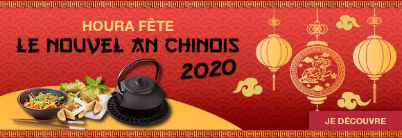 Profitez de la fête du Nouvel An Chinois pour découvrir toutes les saveurs venues d'Asie.  Cette nouvelle année, qui débute le 25 janvier, est sous le signe du rat de métal.  Selon la croyance populaire, le rat de métal est un être passionné qui possède une grande confiance en lui.