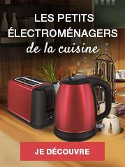 Les petits électroménagers de la cuisine