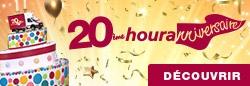 20e houranniversaire