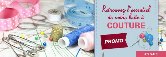 Retrouvez l'essentiel de votre boîte à couture et jusqu'au 2 février, profitez des promotions