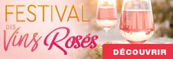 Découvrez le Festival des Vins Rosés