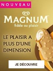 Découvrez le nouveau Magnum Double Gold Caramel Billionaire