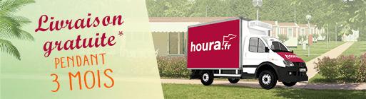 houra.fr, frais de livraison offerts du 9 juillet au 19 août 2018. Commandez vos courses en ligne pour une livraison à domicile