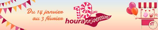 dix neuvième houranniversaire du 14 janvier au 3 février