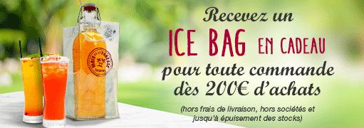 Recevez un Ice Bag en cadeau pour une commande dès 200 euros d'achats