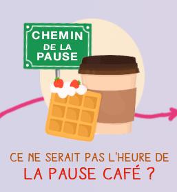 Case jeu Chemin de la Paresse 21 & 22 mai - Une box café