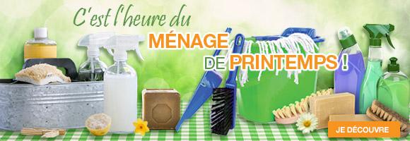 Retrouvez nos produits écologiques pour un entretien de votre maison en douceur et tous nos accessoires
