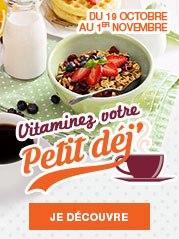 Vitaminez votre petit déjeuner