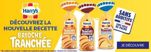 Harrys, des brioches moelleuses pour répondre aux envies de toute la famille et varier les plaisirs. Elles vous feront fondre au petit-déjeuner comme au goûter !