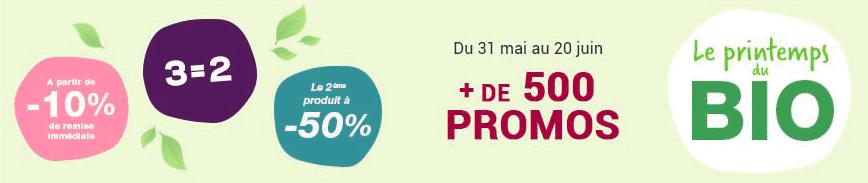 Promotion Produits biologiques