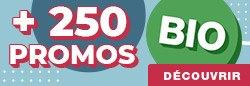Plus de 250 PROMOS BIO