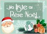 Créez votre liste au père Noël