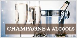 Champagne et alcools