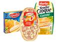 Pizza, Croques, Cordons
