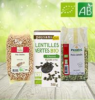 Graines, Lentilles, Légumineuses