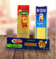 Pâtes Spaghettis, linguine