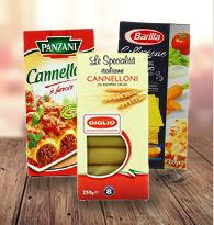 Lasagnes, cannellonis, à farcir