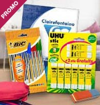 Promotions Fournitures scolaires