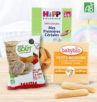 Biscuits, céréales