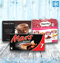 Glaces, Desserts individuels