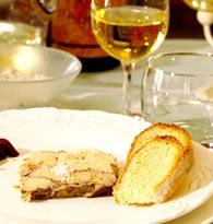 Avec les foies gras