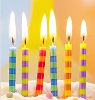 Pailles, bougies, accessoires