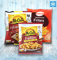 Frites à la friteuse