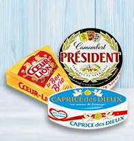 Camembert, Brie, Ovale