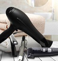 Sèche cheveux, tondeuse