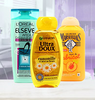 Shampooings cheveux normaux