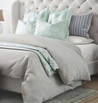 Couettes, oreillers, linge de lit