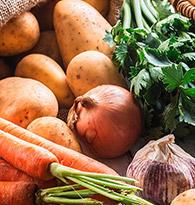 Les légumes de février